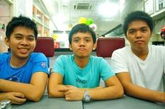 Miguel, Karl & Luke