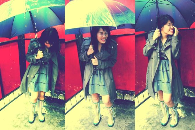 I prayed for the rain