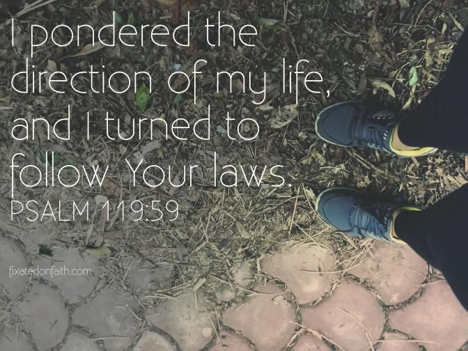 Psalm 119:59